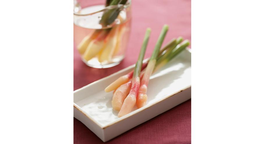 葉付きしょうがの甘酢漬け レシピ 安藤 久美子さん|【みんなのきょうの料理】おいしいレシピや献立を探そう