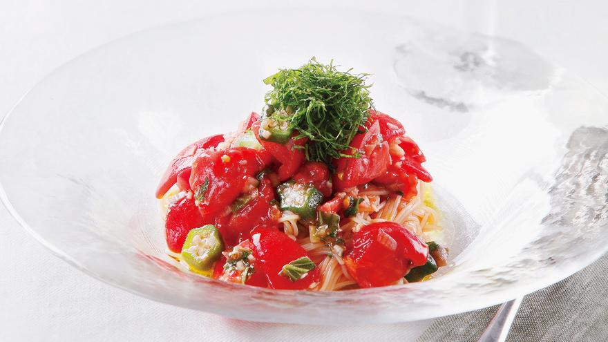 夏野菜の冷製パスタ レシピ 片岡 護さん 【みんなのきょうの料理】おいしいレシピや献立を探そう