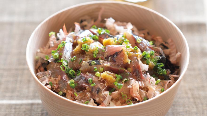 あじと焼きなす丼 レシピ 笠原 将弘さん 【みんなのきょうの料理】おいしいレシピや献立を探そう