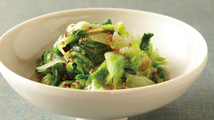 レタスのおひたし レシピ 吉田 勝彦さん|【みんなのきょうの料理】おいしいレシピや献立を探そう