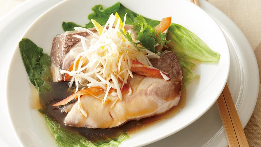 蒸し魚 ねぎ油がけ レシピ 吉田 勝彦さん|【みんなのきょうの料理】おいしいレシピや献立を探そう