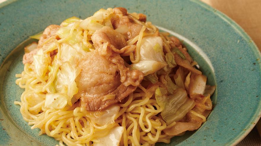 豚とキャベツのアンチョビ焼きそば レシピ 笹島 保弘さん|【みんなのきょうの料理】おいしいレシピや献立を探そう