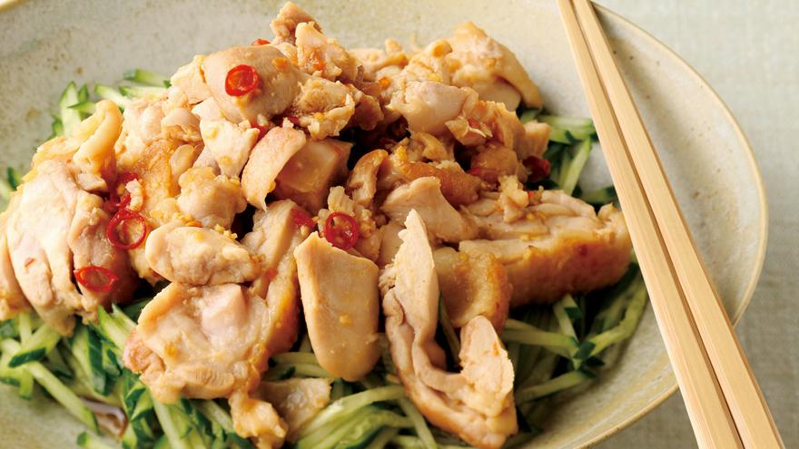 きゅうりと鶏肉のピリ辛あえ レシピ 山本 麗子さん|【みんなのきょうの料理】おいしいレシピや献立を探そう