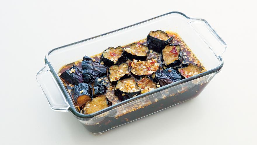 揚げなすのピリ辛香味づけ レシピ 栗原 はるみさん|【みんなのきょうの料理】おいしいレシピや献立を探そう
