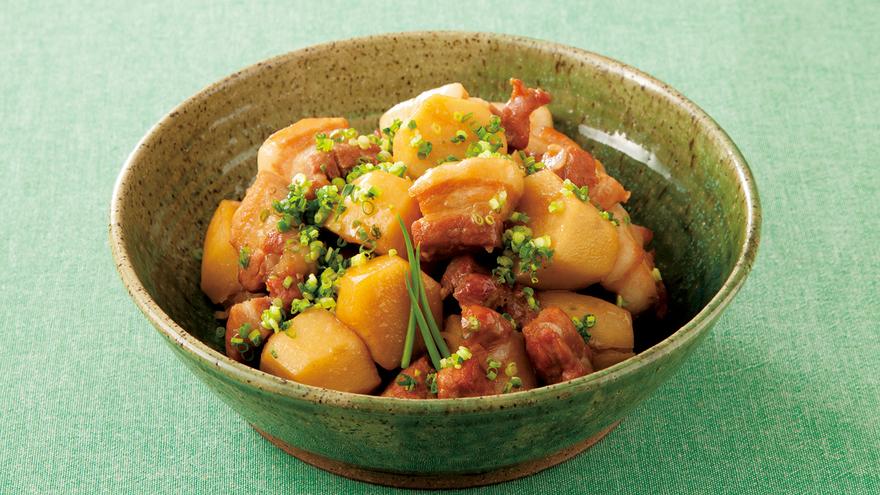 里芋と豚肉の煮っころがし レシピ 鈴木 登紀子さん|【みんなのきょうの料理】おいしいレシピや献立を探そう