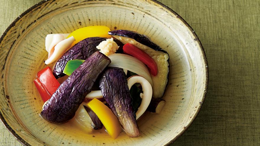 揚げなすの酢びたし レシピ 野崎 洋光さん|【みんなのきょうの料理】おいしいレシピや献立を探そう