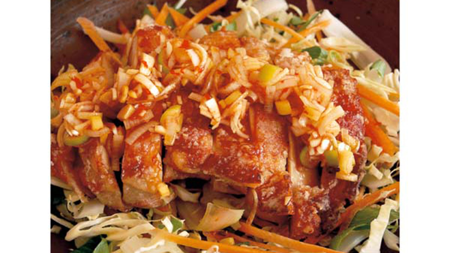 蒸し鶏のパリパリ焼き レシピ 高山 なおみさん 【みんなのきょうの料理】おいしいレシピや献立を探そう