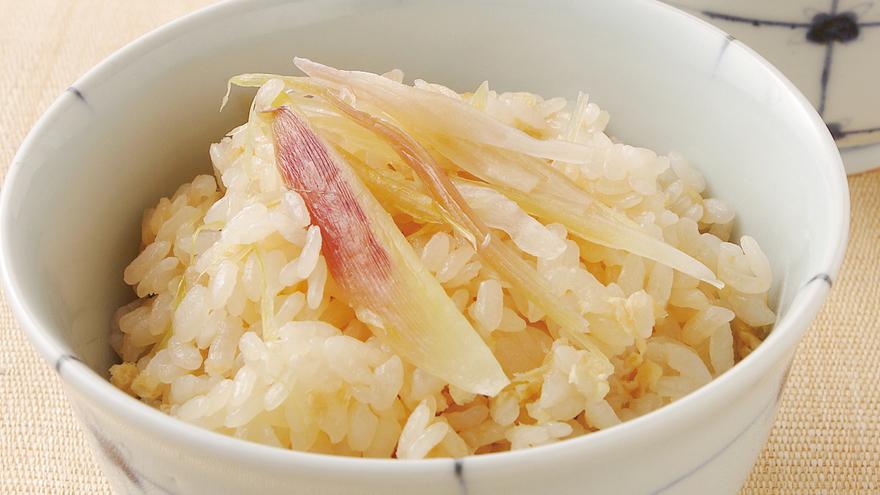 油揚げとみょうがの炊き込みご飯 レシピ 野崎 洋光さん|【みんなのきょうの料理】おいしいレシピや献立を探そう