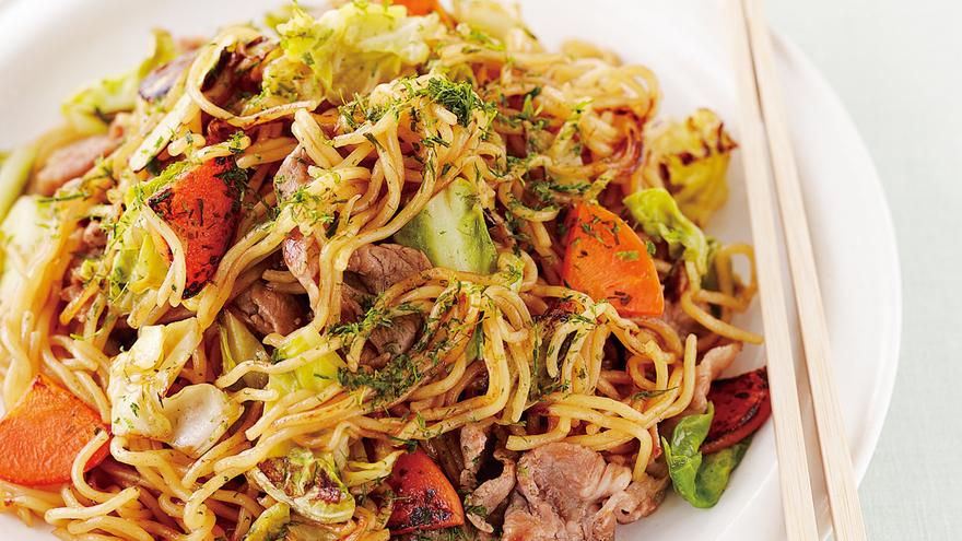 豚肉とキャベツのソース焼きそば レシピ 小田 真規子さん|【みんなのきょうの料理】おいしいレシピや献立を探そう