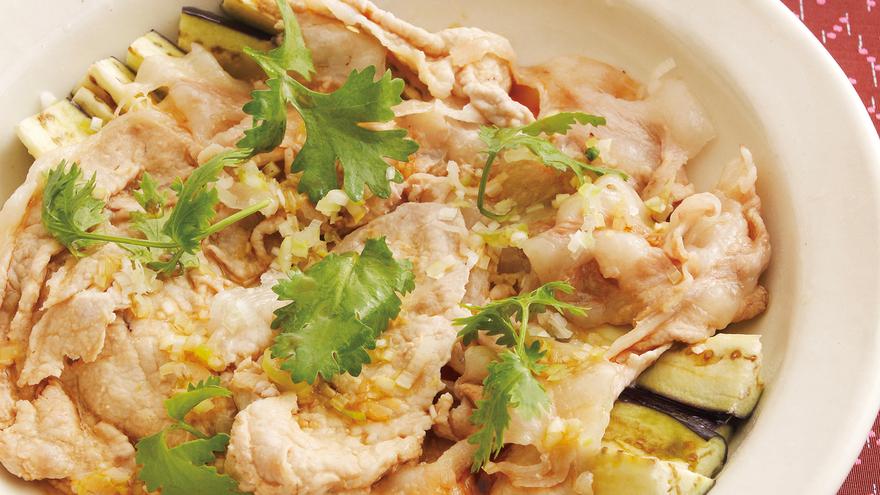 豚肉となすの重ね蒸し レシピ 吉田 勝彦さん|【みんなのきょうの料理】おいしいレシピや献立を探そう