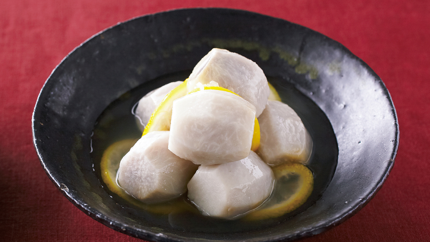里芋の白煮 柚子風味 レシピ 小田 真規子さん|【みんなのきょうの料理】おいしいレシピや献立を探そう