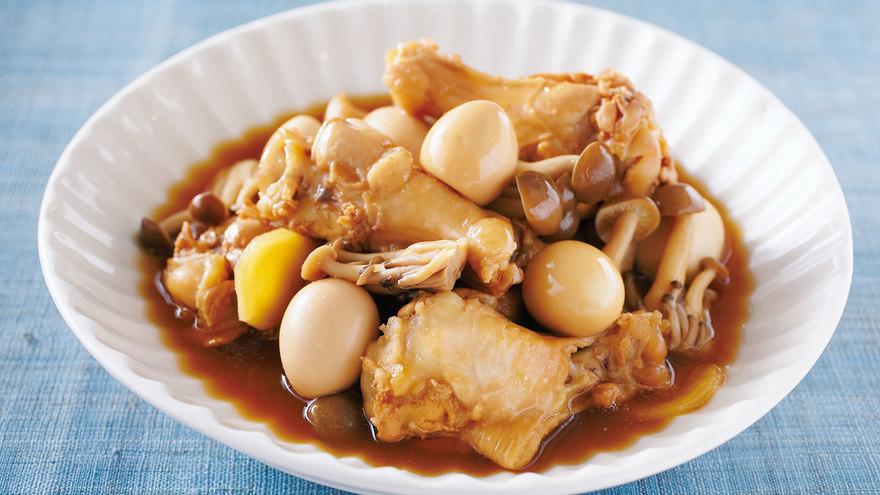 手羽元とうずら卵の煮物 レシピ 小田 真規子さん 【みんなのきょうの料理】おいしいレシピや献立を探そう