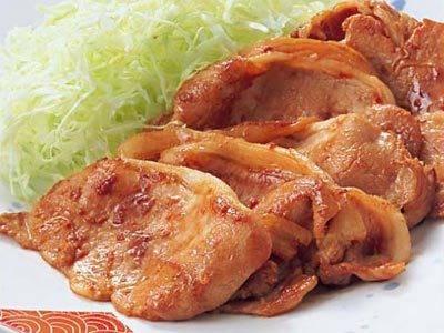 豚もも薄切り 生姜焼き