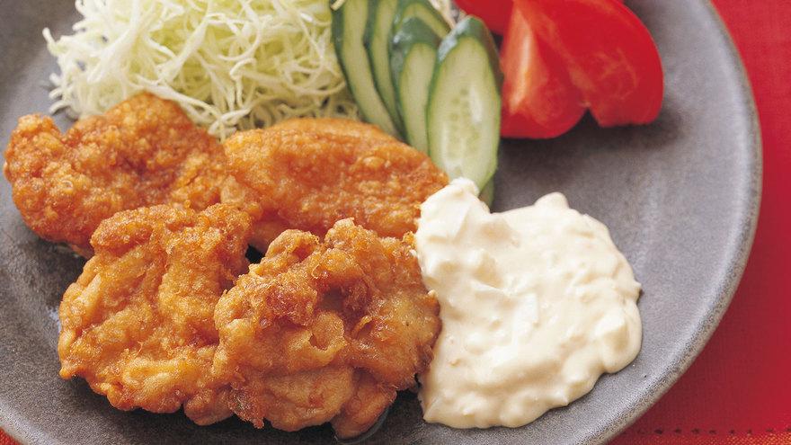 レシピ 肉 胸 南蛮 チキン 鶏肉の南蛮漬け(鶏南蛮漬け)のレシピ/作り方:白ごはん.com