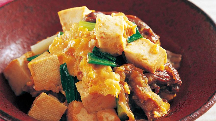卵 とじ 豆腐