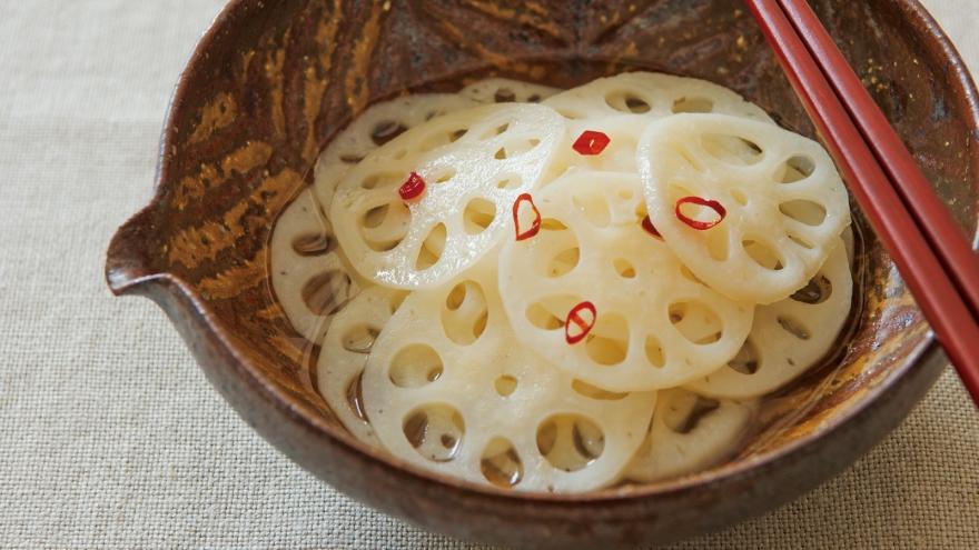 レンコン の 酢の物