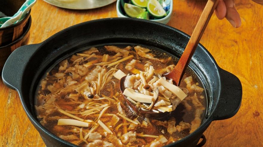 鍋 スープ レシピ 醤油