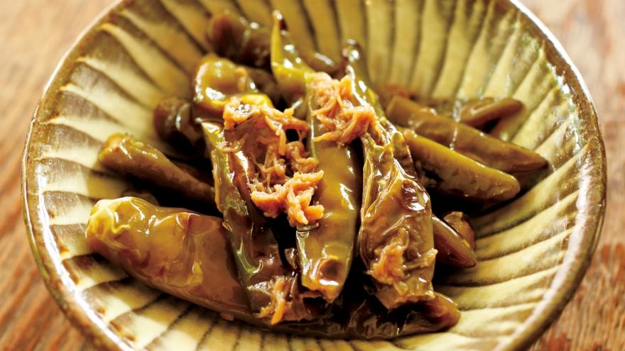 唐辛子 醤油 青