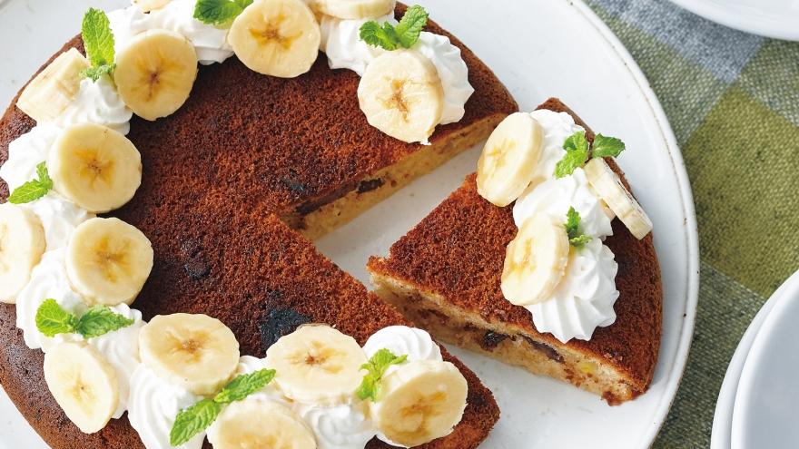 ケーキ バナナ