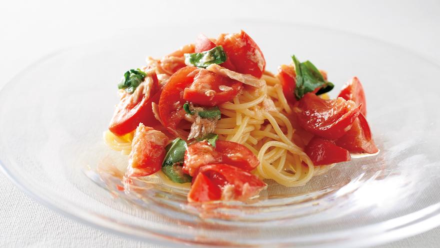 スパゲッティ レシピ トマト