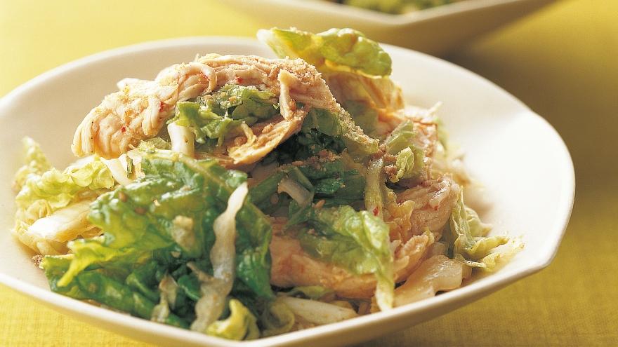 白菜 サラダ レシピ