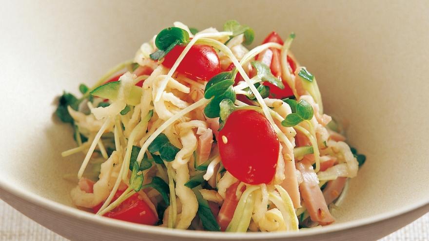 切り干し 大根 サラダ 人気 レシピ