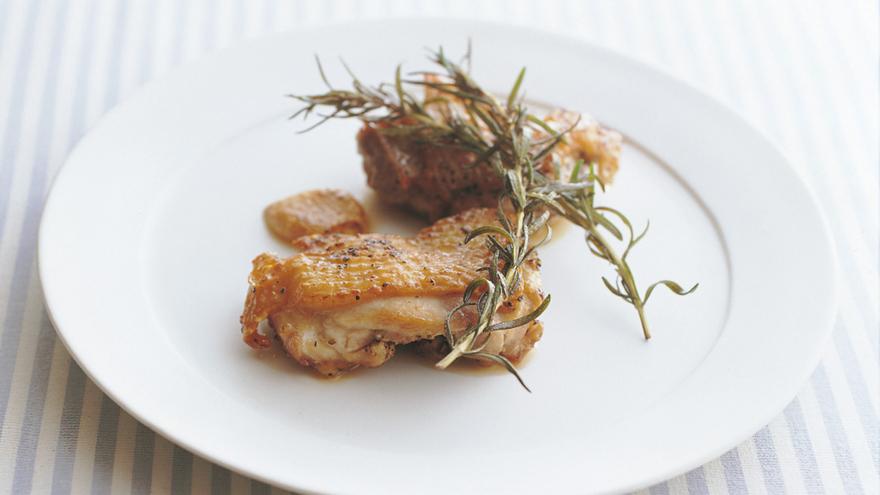 鶏もも肉のローズマリー焼き レシピ 高城 順子さん みんなのきょうの料理 おいしいレシピや献立を探そう