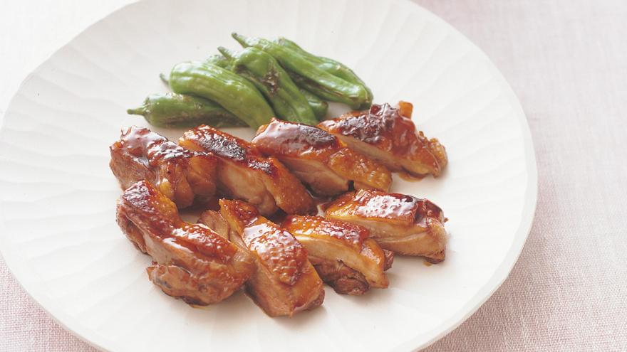 焼き 鶏 もも肉 照り