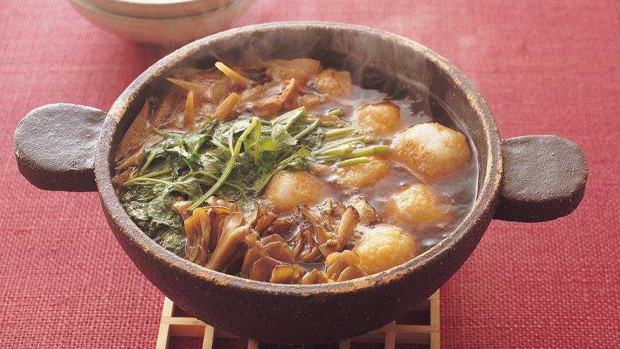 鍋 レシピ きのこ