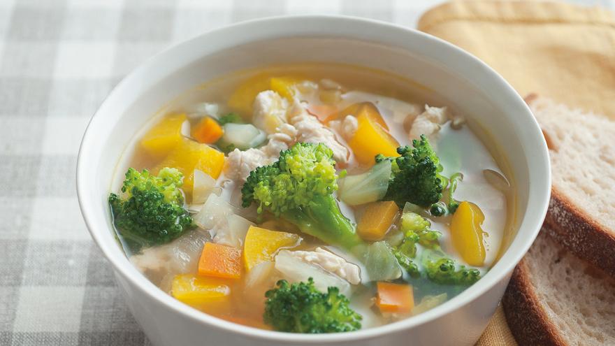 スープ ブロッコリー 【365日のパンとスープ】 ほうれん草とブロッコリーのグリーンスープ