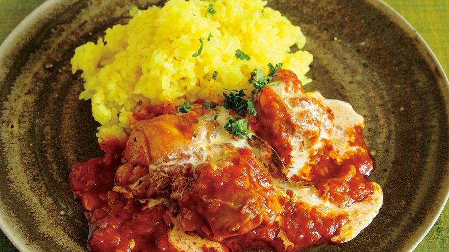 トマト ソース 煮 鶏肉 の