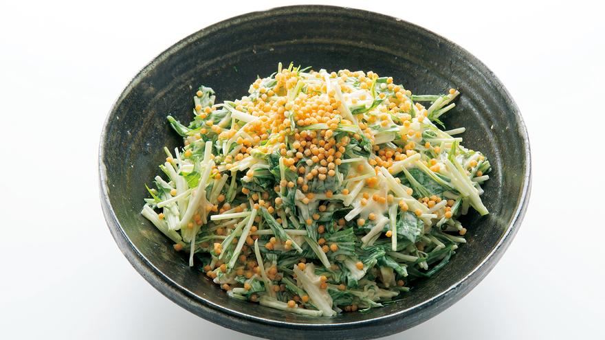 サラダ レシピ 水菜