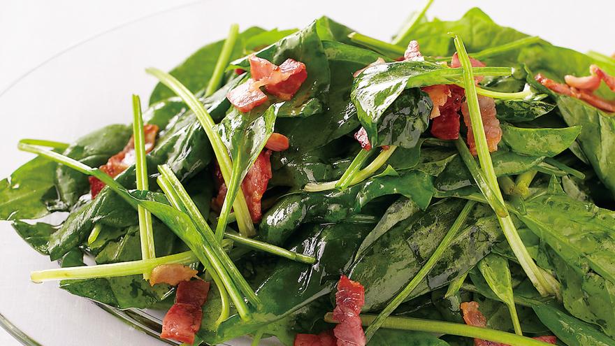 サラダ ほうれん草