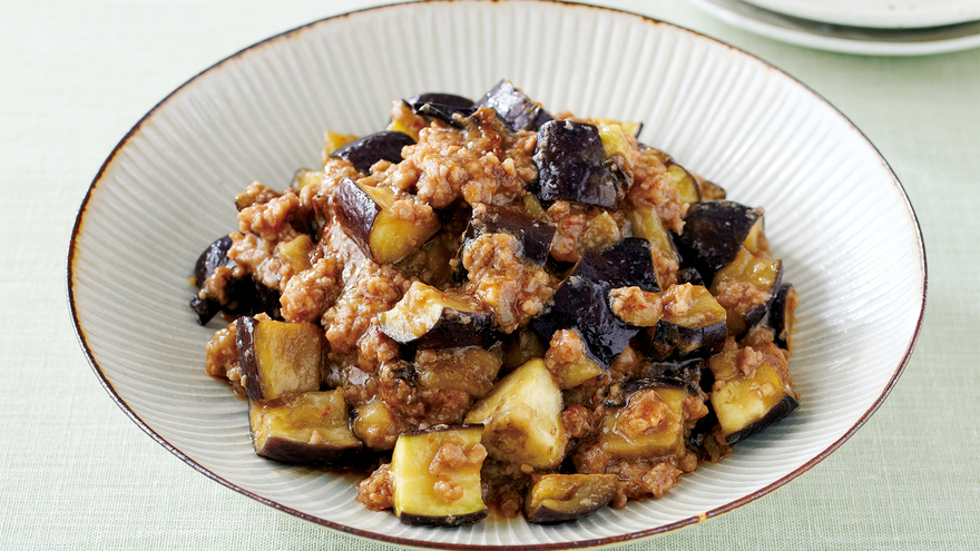 レシピ ナス と ひき肉