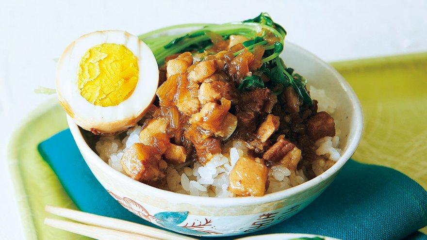 【今日の料理】【今日の料理】魯肉飯(ルーローファン)