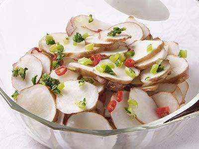 菊芋の酢づけ レシピ |【みんなのきょうの料理】おいしいレシピ