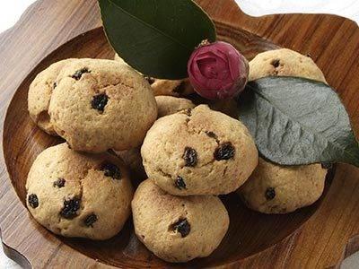 おからクッキー フライパン