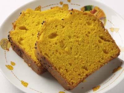 かぼちゃ パウンドケーキ ホットケーキミックス