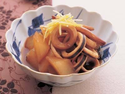 大根 と いか の 煮物