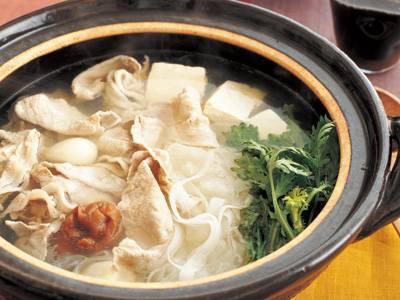 ヒラヒラ大根と豚しゃぶのサッと鍋 レシピ 藤野 嘉子さん