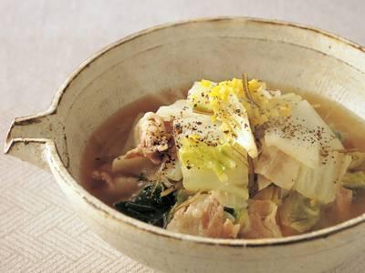 豚 バラ 白菜