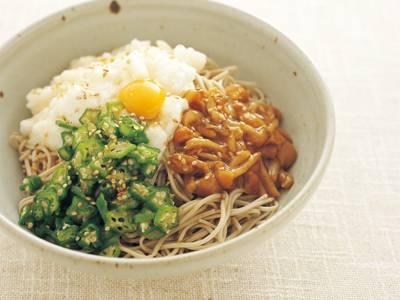 オクラとろろなめこそば レシピ 本多 京子さん |【みんなの